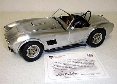 Shelby Cobra 1964 brushed aluminum item G1202607