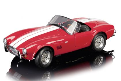 Shelby Cobra 289 • Red with White stripes • Limited Edition 500 pcs. Worldwide • #S450672500