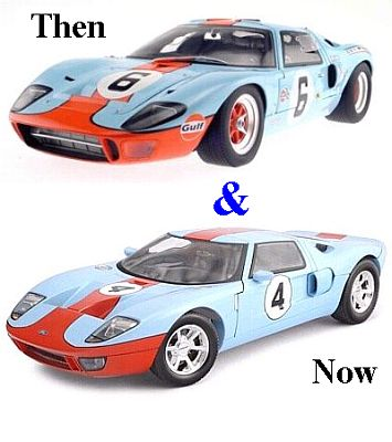 GULF racing Ford GT40 & GT item SetGT40GTg