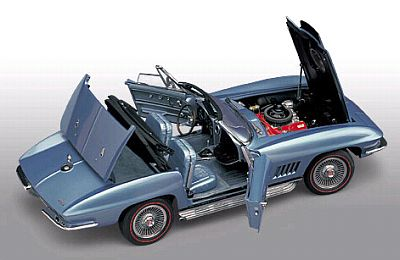 1967 Corvette Sting Ray L88 convertible marina blue item FMe301