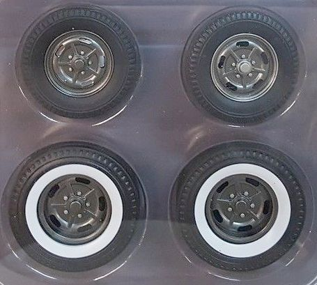 HALIBRAND Hot Rod wheel & tire set • #A1805012W