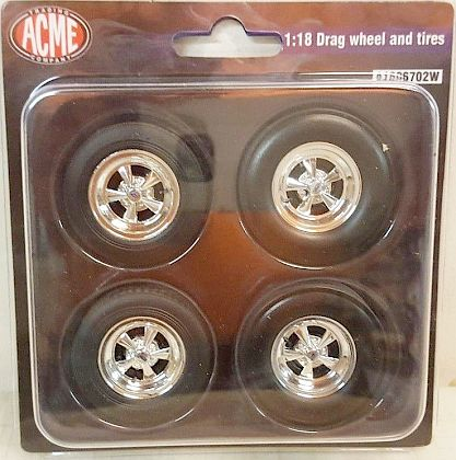 CRAGAR Drag wheel & tire set • #A1806702W