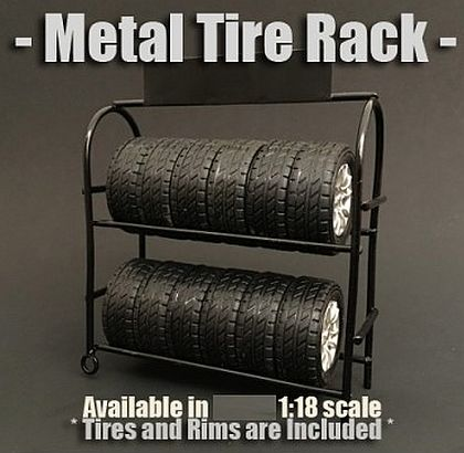 Metal Tire  and Wheel Rack • #AD77518
