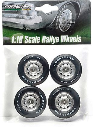Rally Wheel & Good Year Polygalss F70-14 Tire set • Chrysler Dodge Plymouth • #GL12872