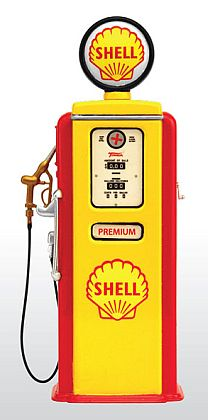 SHELL Premium Gas • Retro Fuel Pump • #TSM13AC20
