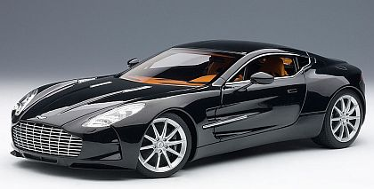 Aston Martin One-77 • Black Pearl • #AA70241