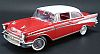 1957 Chevrolet Bel-Air Fuel-Injection Coupe • Red/White • #A1807002N