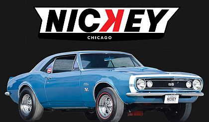 1967 Nickey Camaro 427 SS • Marina Blue • #A1805706