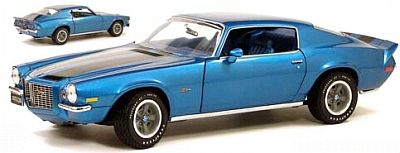 1970 Camaro Z28 in Mulsanne Blue, item #FMe035