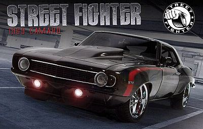 1969 Chevy Street Fighter Camaro item G1800312