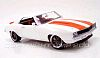 1969 Camaro RS Sport Coupe • White with Orange stripes • #G1800315