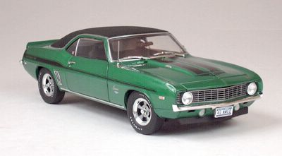 1969 Yenko 427 Camaro - Rally Green Black Stripes - 50699HW61