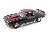 1969 BALDWIN-MOTION Camaro 427 SS • Black with Red stripe • Side Exhaust • #50865HW61