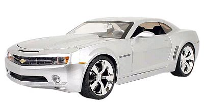 Camaro 2006 Concept Coupe silver, item #jt91077sil
