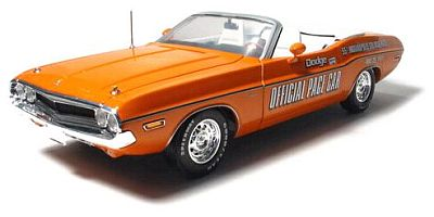 1971 Dodge Challenger INDY500 Pace Car Convertible, item #GL11802-06