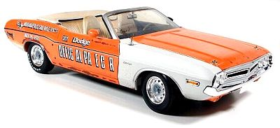 1970 Dodge Challenger INDY 500 Pace Car, Un-Restired version of 300 pieces, Item #GL11802-06U