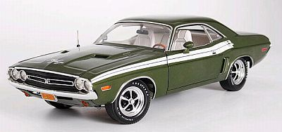 1971 Dodge Challenger Dark Iridescent Green metallic, item #50603