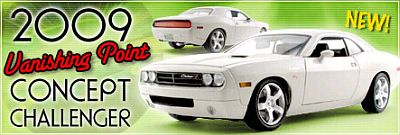 2009 Dodge Challenger 'Vanishing Point' Concept, Item #HW61-50626