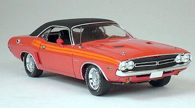 1971 Dodge Challenger R/T - Hemi Orange/Orange R/T stripes - 50691HW61