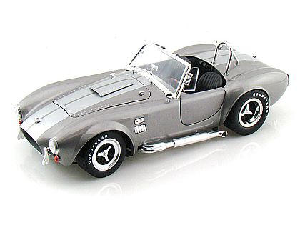 1966 Shelby Cobra 427 S/C • Tungsten Silver with Silver stripes • #SC137