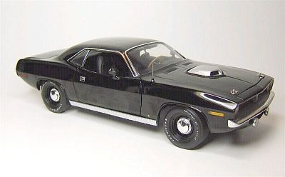 1970 HEMI 'Cuda in TX9 Black, Item #HW61-50615