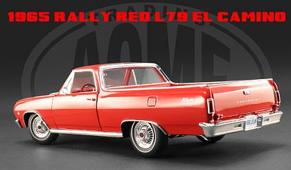 Chevrolet El Camino L79 • Rally Red Brochure Car • #A1805403