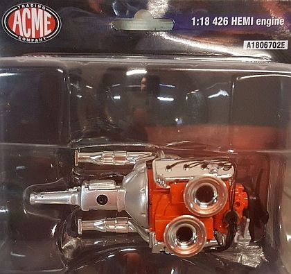 426 HEMI engine with Transmission • #A1806702E