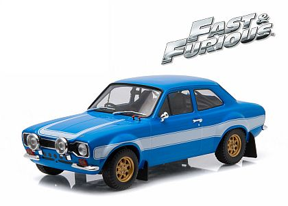 Fast & Furious Ford Escort RS2000 MK I • White-Blue • #GL190022