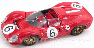 1967 Ferrari 330P4 - 1967 BOAC 500 Brands Hatch - G1804101