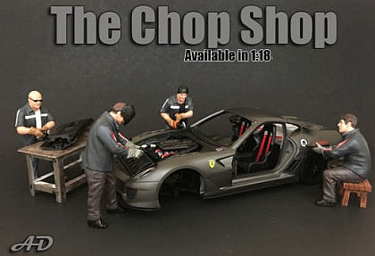 The Chop Shop Figurines • 1/18 scale • #AD38162