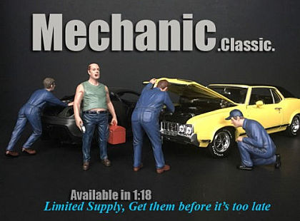 Classic MECHANIC Figurines • 1/18 scale •#AD38180