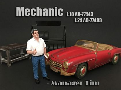 Manager Tim • Mechanic • #AD77443