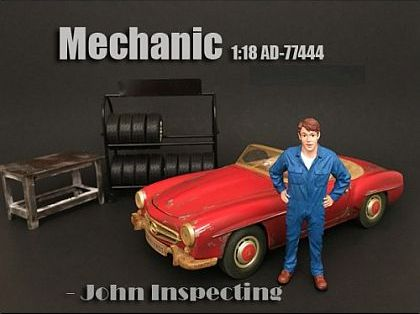 John • Mechanic • #AD77444