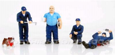 Item #GMP-2400103 Service Shop figurine set