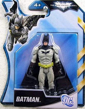 BATMAN Figurine • Grey-Black Armour • #MAT-Y1454