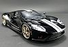 Ford GT • Black with Silver stripes • #US001B