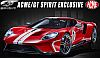 Ford GT #1 Heritage Edition • Red with White stripes • #US008
