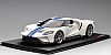Ford GT • Frozen White with Lightning Blue stripes • #TS0093