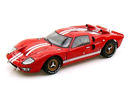1966 Ford GT40 Mk.II • Red with White stripes • Street Version • #SC400