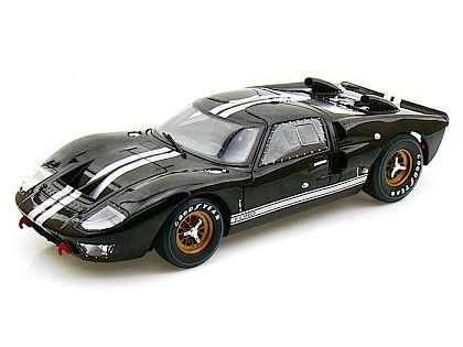 1966 Ford GT40 Mk.II • Black with White stripes • Street Version • #SC402