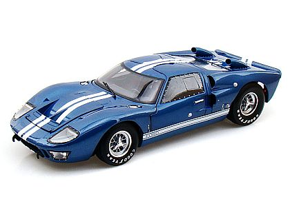 1966 Ford GT40 Mark II • Blue with White stripes • Street Version • #SC412