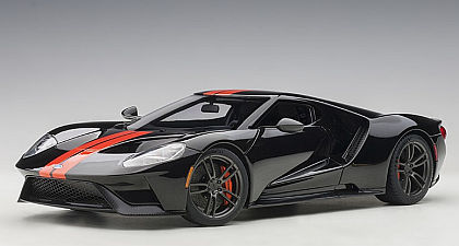 Ford GT • Shadow Black with Orange stripes • #AA72945 • www.corvette-plus.ch