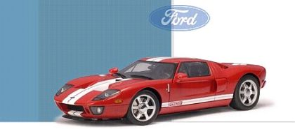 2004 Ford GT - Mark IV Red - AA73021