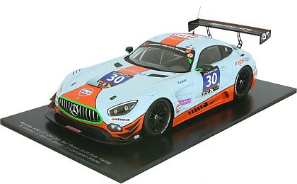 Mercedes AMG GT3 GULF #30 • RAM Racing • #18SF003