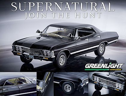 SUPERNATURAL 1967 Chevrolet Impala Sport Sedan • Artisan Collection • #GL19001