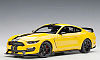 Ford Shelby Mustang GT350R • Triple Yellow with Black stripes • #AA72932 • www.corvette-plus.ch