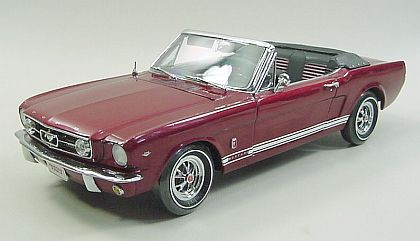 1965 Mustang GT Convertible - Vintage Burgundy - Matco Tools Limited Edtion 1200 Pieces - #ER29651MA