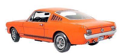 Item 39393ch 1965 Mustang GT Fastback Poppy red CHASE Edition