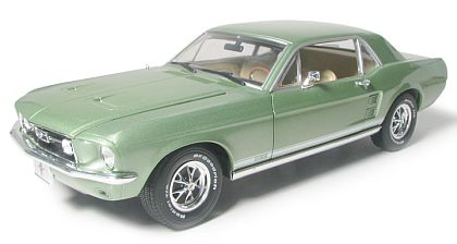 1967 Mustang GT Coupe - Lime Gold - Limite Edition - #GL12805