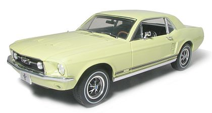 1967 Mustang GT Coupe - Springtime Yellow - Limited Edition - #GL12806